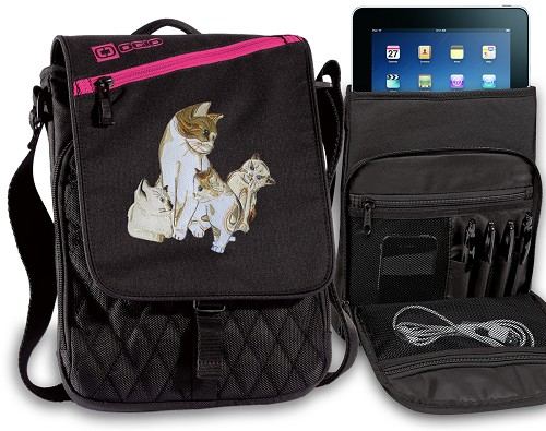 Cute Cats Tablet Bags & Cases Pink