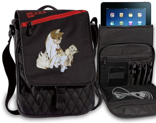 Cute Cats Tablet Bags & Cases Red