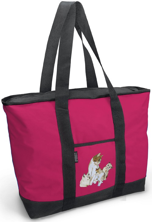 Deluxe Cute Cats Tote Bag