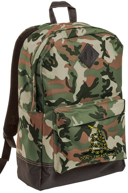 Don't Tread on Me Camo Backpack