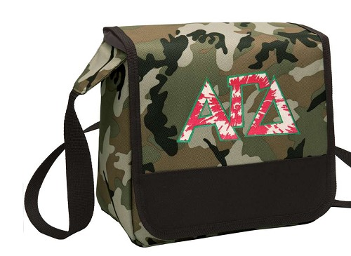 Alpha Gamma Lunch Bag Cooler Camo