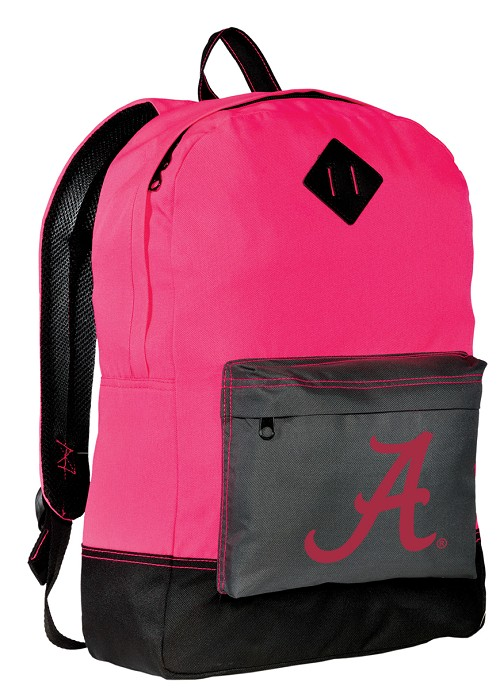 Alabama Backpack HI VISIBILITY University of Alabama CLASSIC STYLE For Her Girls Women