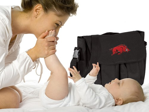 Arkansas Razorbacks Diaper Bags