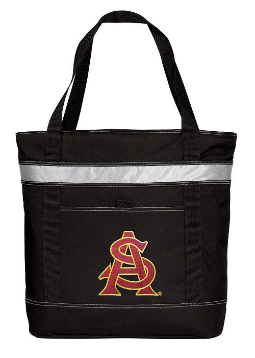 ASU Insulated Tote Bag Black
