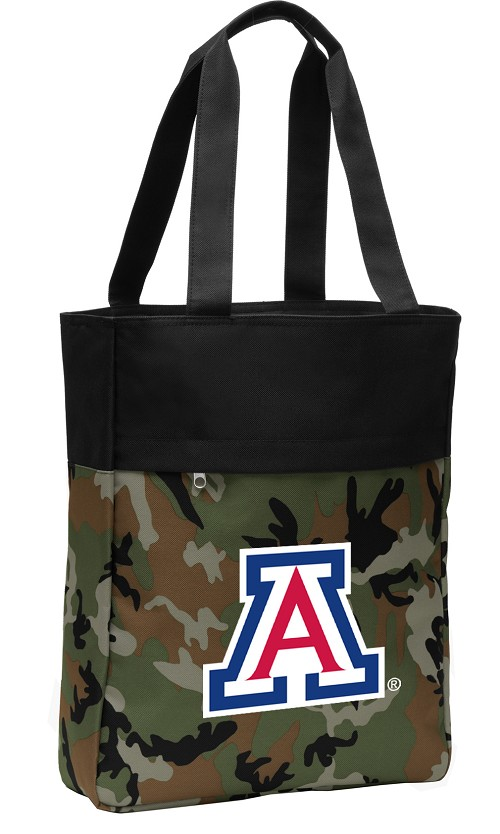Arizona Wildcats Tote Bag Everyday Carryall Camo
