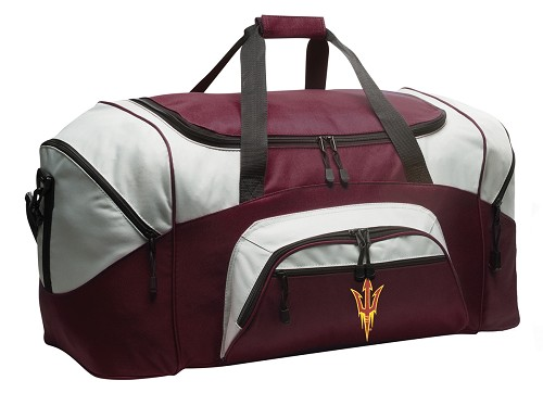 Arizona State Duffle Bag Maroon