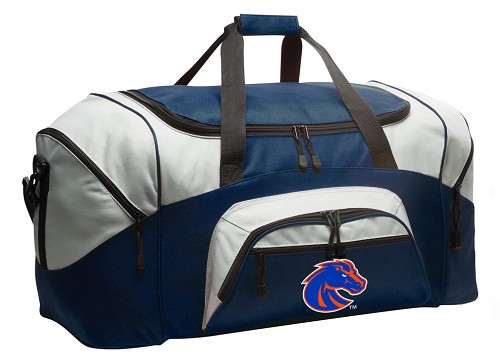 Large Boise State University Duffle Boise State Broncos Duffel Bags