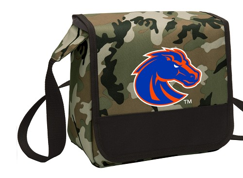 Boise State Lunch Bag Cooler Camo