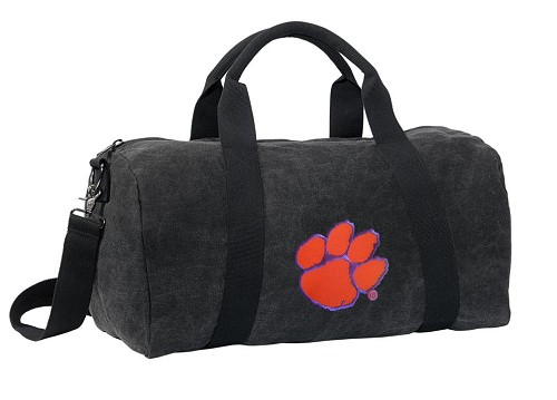 Clemson Duffel RICH COTTON Washed Finish Black