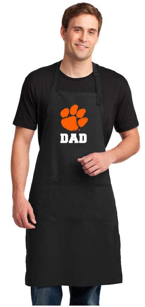 Clemson Dad Large Apron