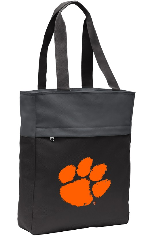 Clemson Tote Bag Everyday Carryall Black