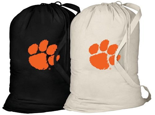 Clemson Laundry Bags 2 Pc Set