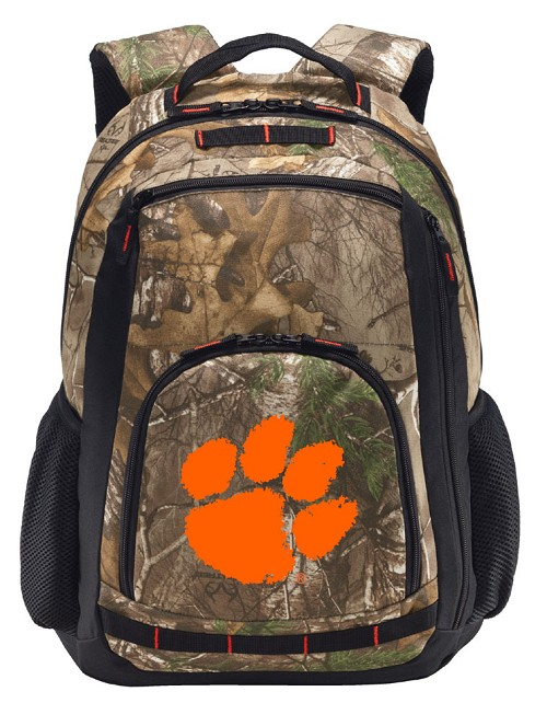 Clemson RealTree Camo Backpack