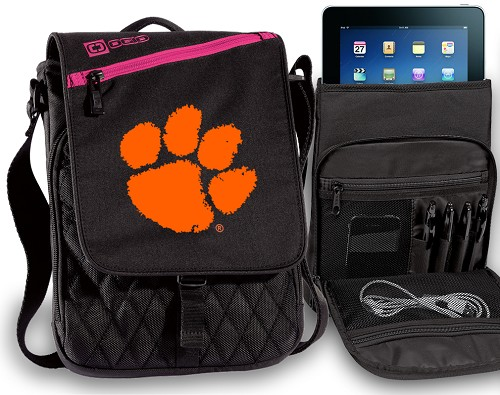 Clemson Tablet Bags & Cases Pink