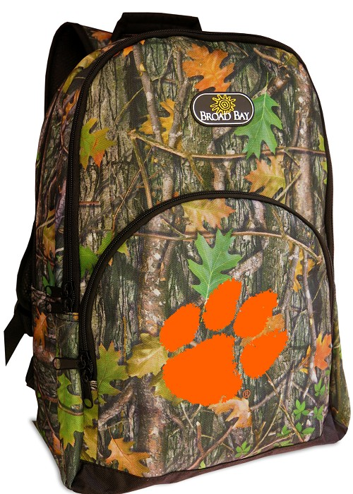 Clemson Backpack REAL CAMO DESIGN