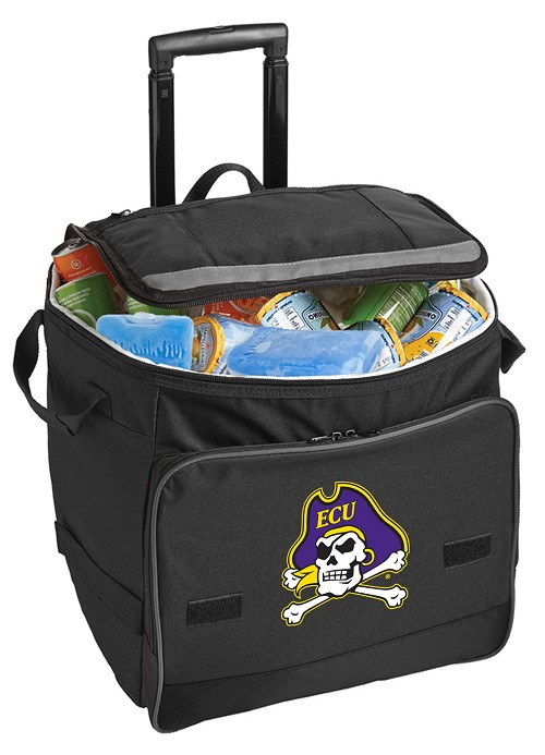 ECU Pirates Rolling Cooler Bag