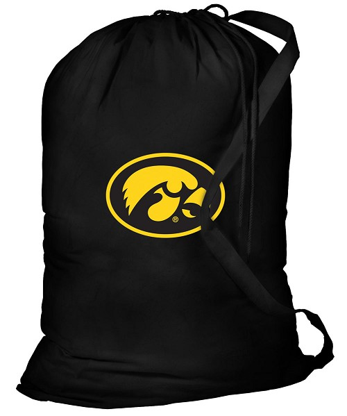 Iowa Hawkeyes Laundry Bag Black