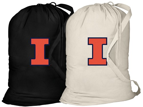 University of Illinois Laundry Bags 2 Pc Set