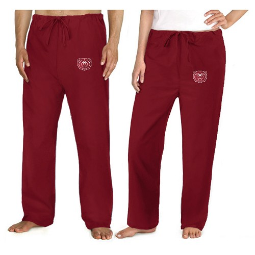 Missouri State University Scrubs Bottoms Pants