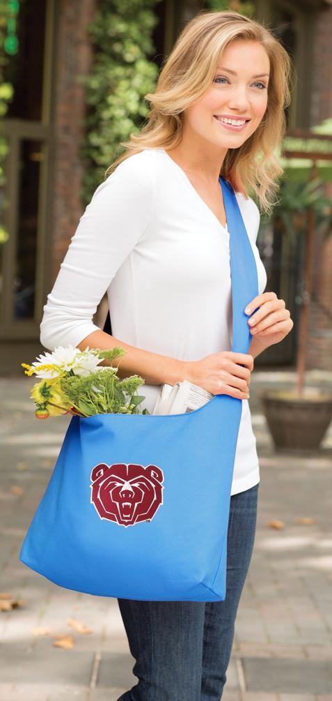 Missouri State Tote Bag Sling Style Teal