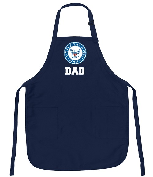 Official NAVY DAD Aprons Navy