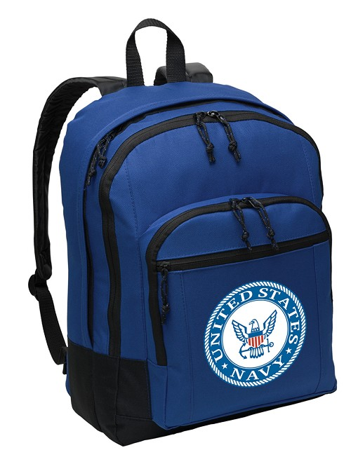 United States Navy Backpack CLASSIC STYLE Blue