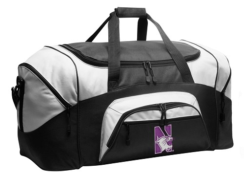 BEST Northwestern University Duffel Bags or NU Wildcats Gym bags