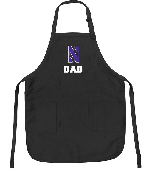 Northwestern University Dad Apron