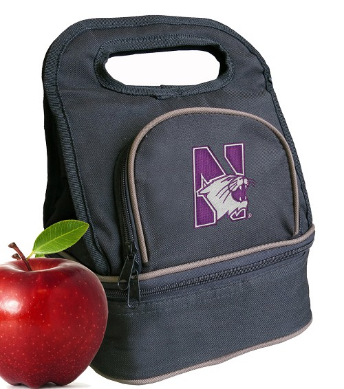 Northwestern University Lunch Bag Black