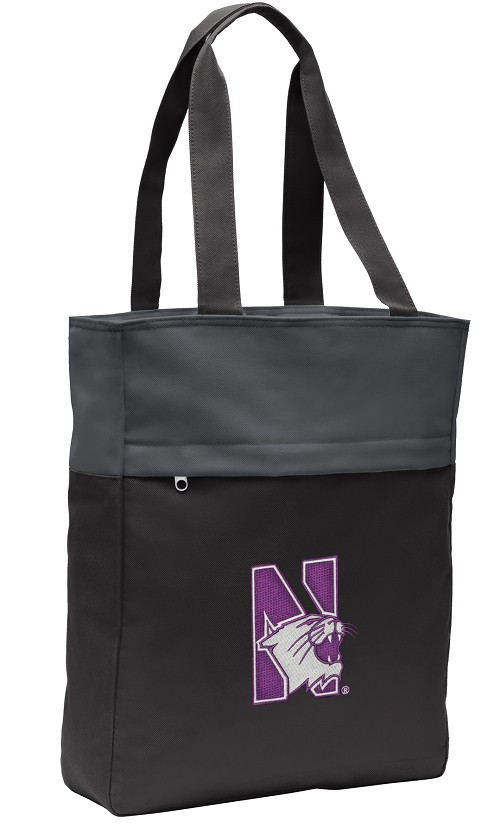Northwestern University Tote Bag Everyday Carryall Black