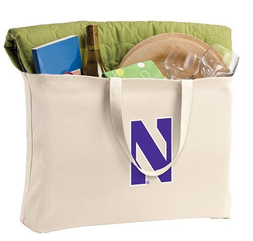 Northwestern University Jumbo Tote Bag