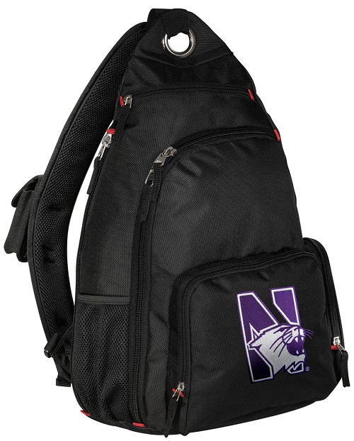 Northwestern University Backpack Cross Body Style