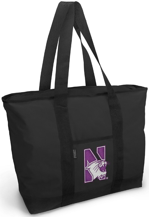Northwestern Wildcats Tote Bag Northwestern University Totes
