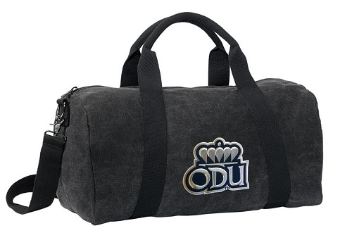 ODU Monarchs Duffel RICH COTTON Washed Finish Black
