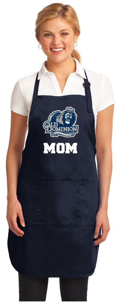 ODU Mom Apron Navy