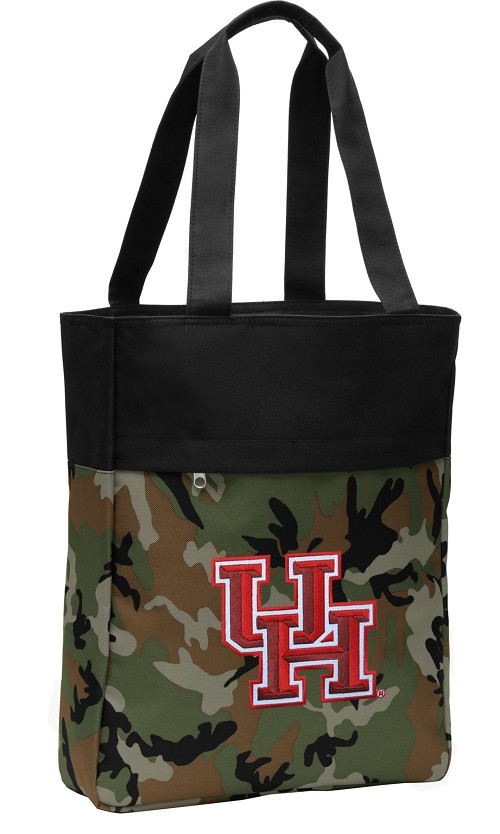 University of Houston Tote Bag Everyday Carryall Camo
