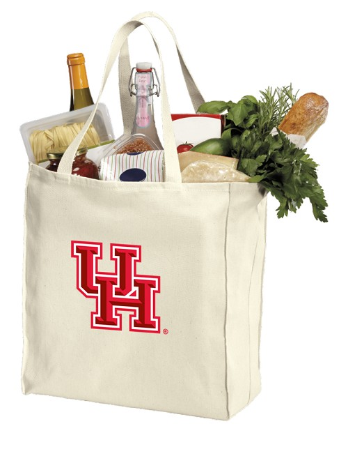University of Houston Shopping Bags Canvas