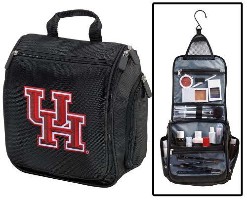 UH Toiletry Bag or University of Houston Shaving Kit Travel Organizer for Men