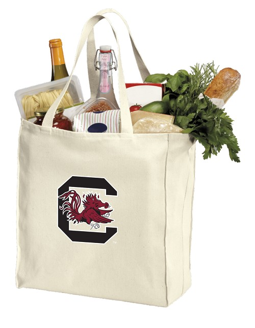 South Carolina Gamecocks Shopping Bags Canvas