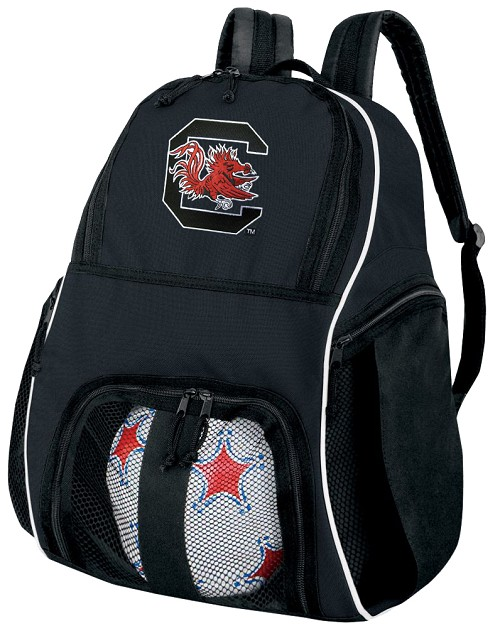 University of South Carolina Soccer Backpack or South Carolina Gamecocks Volleyball Bag For Boys or Girls