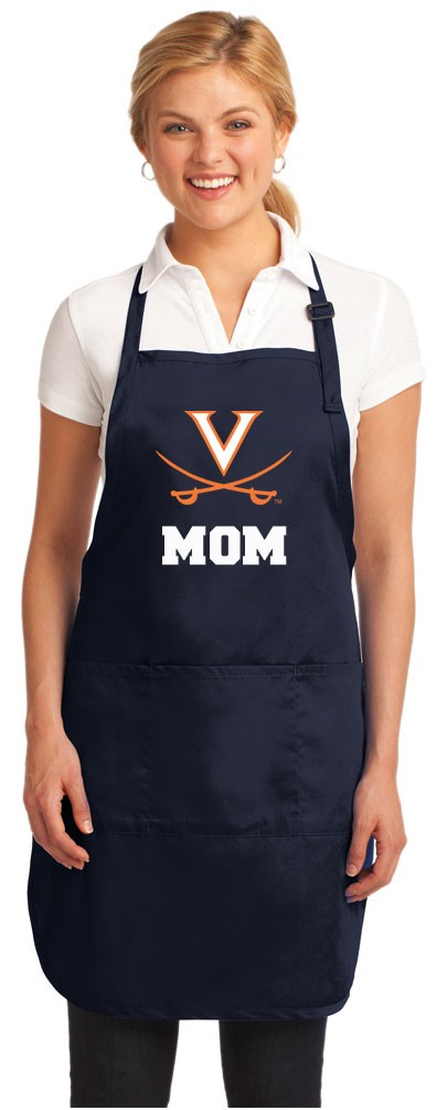 UVA Mom Aprons Navy