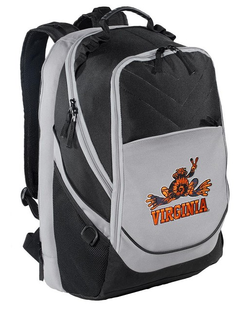 UVA Peace Frog Backpack w/ Laptop Section