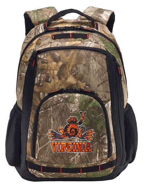 UVA Peace Frog RealTree Camo Backpack
