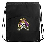 ECU Pirates Drawstring Bag Cinch