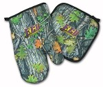 ECU Pirates Real Camo Mitt Potholder Set