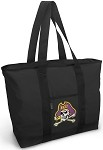 ECU Pirates Tote Bag Black Deluxe