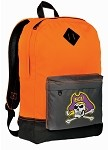 ECU Pirates Neon Orange Backpack