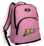 ECU Pirates Backpack Pink