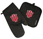 IU Indiana University Mitt Potholder Set