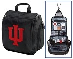 IU Indiana University Cosmetic Bag or Mens Shaving Kit - Travel Bag